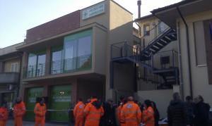 Inaugurazione Croce Verde Lamporecchio